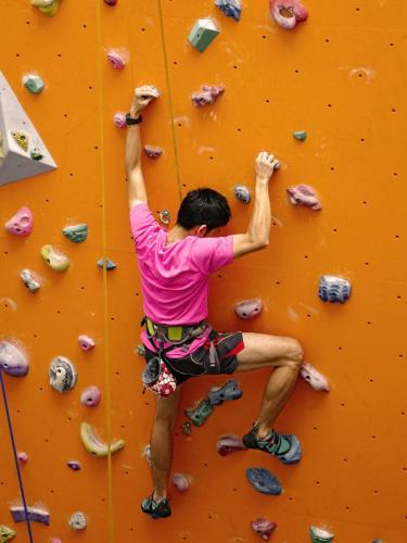 Youth Rock Climbing